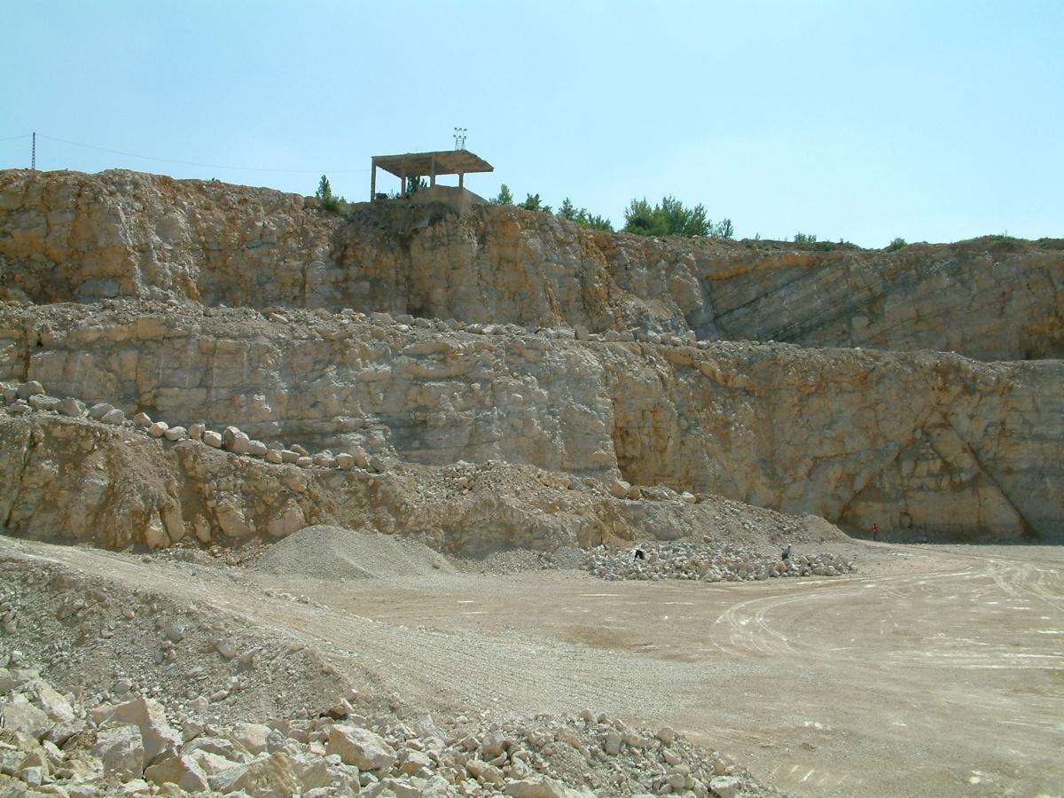 Dolomit bánya